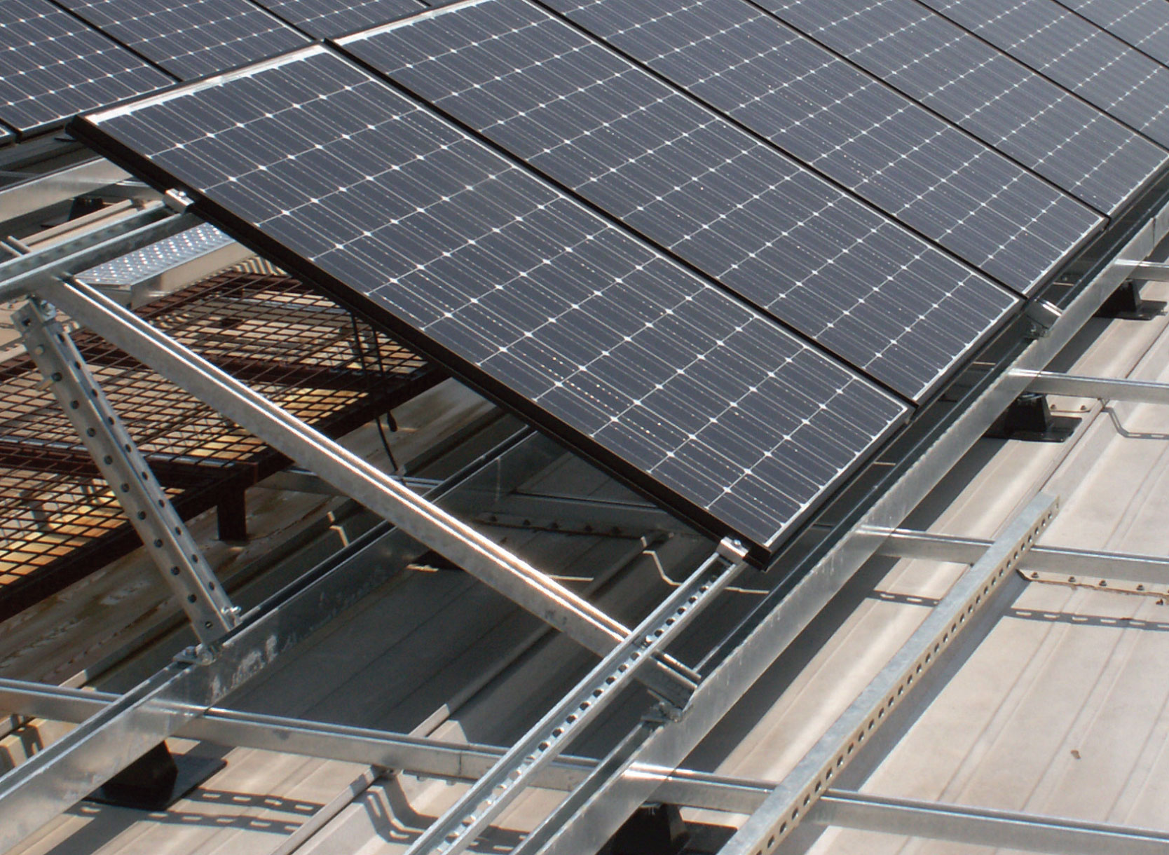 Solar Panel Frames And Support Wuxi Taihu Machinery