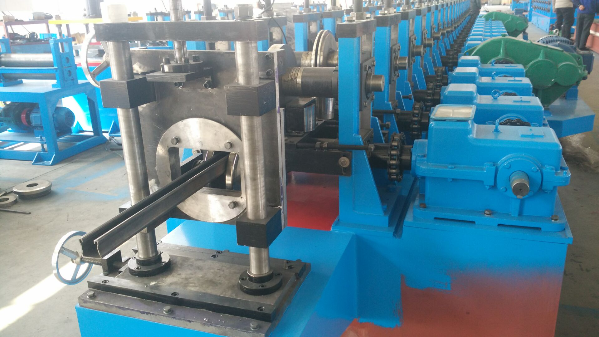 Solar Strut Channel Cold Roll Forming Machine