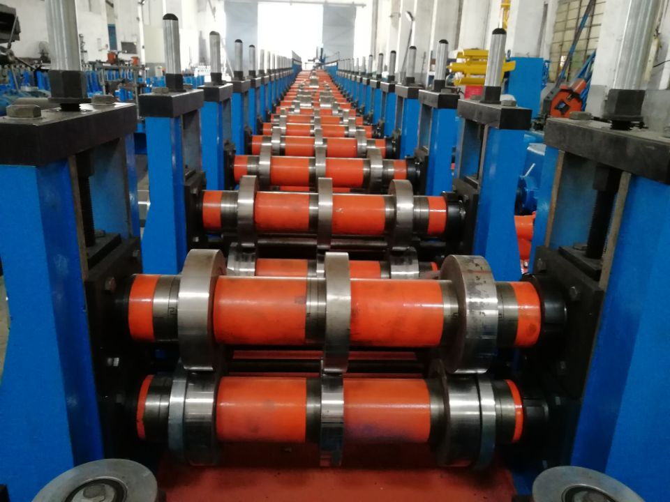 Patented New Type Racking Box Beam Cold Roll Forming Machine