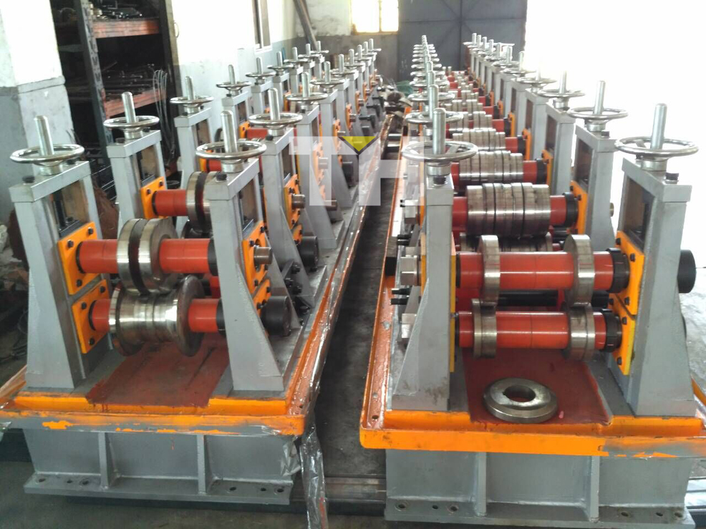 Cassette Type Roll Forming Machines In Production Wuxi